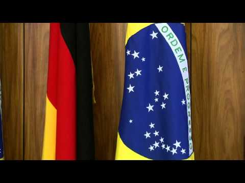 Rousseff y Merkel acordaron un diálogo político para dinamizar sus relaciones