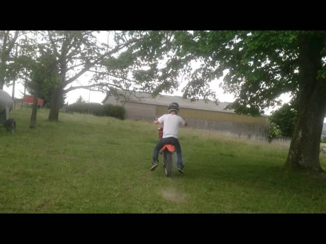 Petit wheeling ktm 85 sx