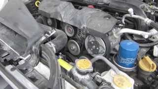 2013 Subaru Impreza Engine