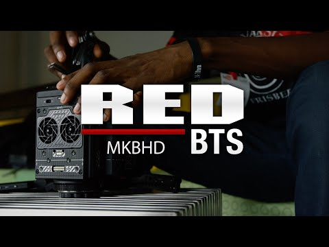 MKBHD RED RAVEN BTS