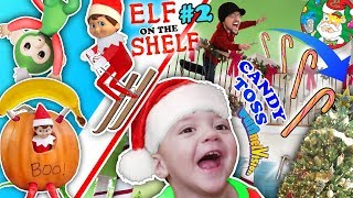 Silly ELF on the SHELF & 12th Day of Christmas Month Vlog FUNnel Family Holiday Fun