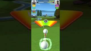 Golf Clash 383 yard hole in one