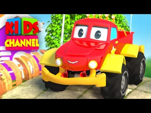 Monster Truck Cartoons for Children by Kids Channel | Cars Videos |  Monster Trucks Tow Truck