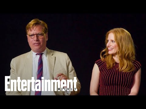Jessica Chastain Talks About Being Directed By Aaron Sorkin In 'Molly's Game' | Entertainment Weekly