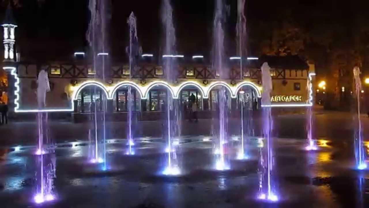 26.04.2013, пятый фестивальный.  Красивый фонтан в Парке Горького Харьков Beautiful fountain in Gorky Park Kharkov.
