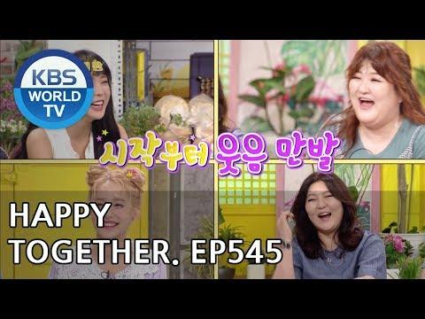 Happy Together I 해피투게더 - Han Hyeyeon, SHINee, Mamamoo, Lee Gookju, Kang Hyejin, etc [ENG/2018.07.19]