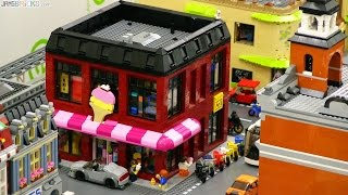 LEGO Arcade & Ice Cream & Bike Shop! 🕹️ custom MOC