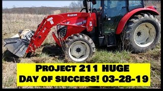 Southern Illinois farm Project 211 Tree planting CRP Farm Vlog Day 4!