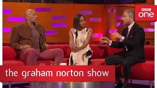 Martin Freeman has a fear of choking - The Graham Norton Show  - BBC