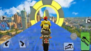 Jogos de Motos para Crianças - Bike Impossible Tracks Race 3D - Motos de Corrida