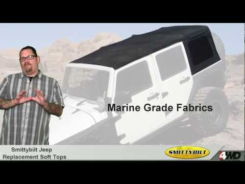 Smittybilt - Jeep Replacement Soft Top - Jeep Tops
