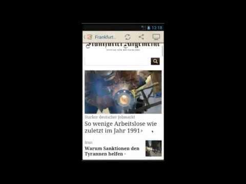 Deutsche Zeitungen Android 1.4