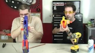 Nerf Kidwell Mod Longstrike CS-6
