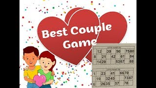2018 Best couple game for couple  kitty // fun games for couple kitty party