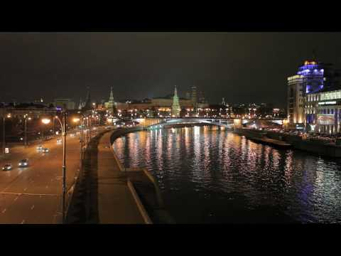 Moscow, The Kremlin, time-lapse