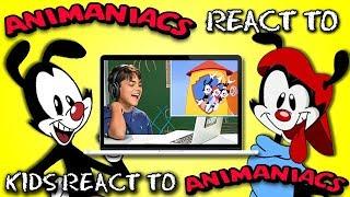 Animaniacs React To Kids React To Animaniacs