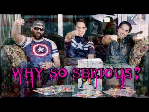 Winter Soldier Parody + Top 10 Marvel Babes! WHY SO SERIOUS Issue #2