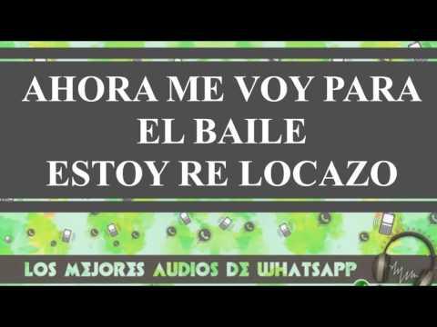 Audios Y Videos Whatsapp - Ahora Me Voy Para El Baile Estoy Re Locazo