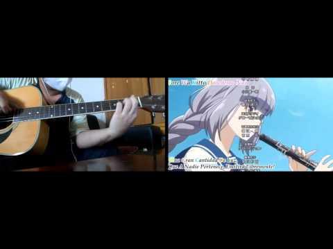 Haruchika Haruta To Chika Wa Seishun Suru Opening Niji Wo Ametara Guitar Cover