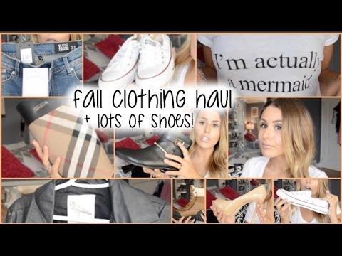 FALL CLOTHING HAUL!! {LULUS, BURBERRY, MICHAEL KORS & MORE!)