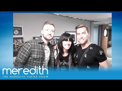 Lance Bass Ran Into Justin Timberlake! | The Meredith Vieira Show