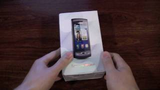 Samsung Wave S8500 Unboxing