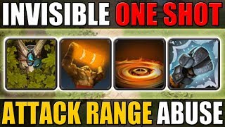 ES - Ranged Hero with Invisible One Shot [Totem + Liquid Fire + Walrus PUNCH!] Dota 2 Ability Draft