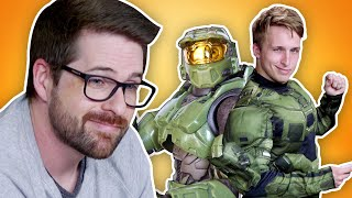 WE READ IAN'S HALO FAN FICTION FROM HIGH SCHOOL