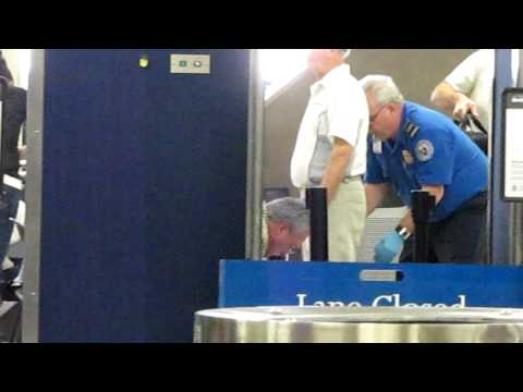 TSA Having Their Way with Old Man Groping and Body Scanners thumbnail