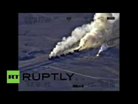 Iraq: Defense ministry video shows airstrike on ISIS