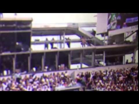 Se cayó un cartel en Roland Garros y lastimó a varios espectadores
