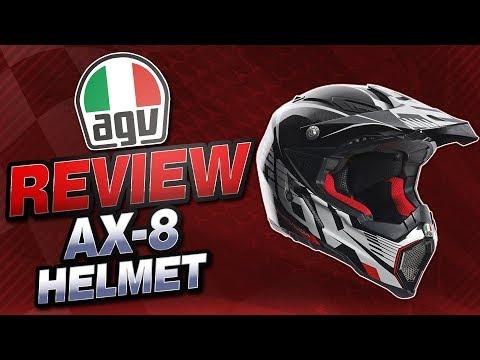 AGV AX-8 Evo Helmet Review from Sportbiketrackgear.com