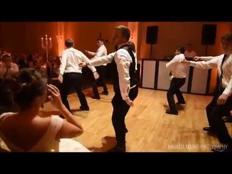 Groom Surprises Bride With Choreographed Dance!