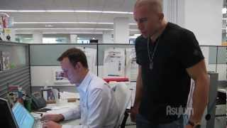 Georges St-Pierre - Funny Commercial (GSP OFFICE BULLY) 720P HD