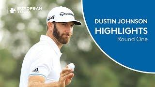 Dustin Johnson Extended Highlights | Round 1 | 2018 Abu Dhabi HSBC Golf Championship