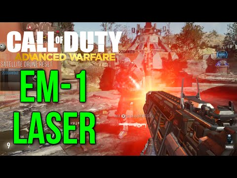 EM-1 Quantum: Laser Weapon (Call of Duty: Advanced Warfare Multiplayer Gameplay)