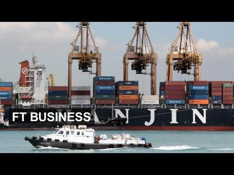 Container shipping the world in a box