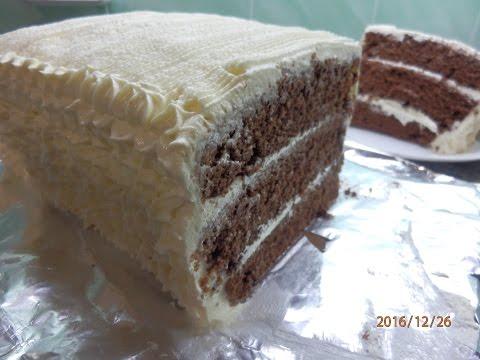 ТОРТ НА КЕФИРЕ/ Черный принц /Chocolate Cake on kefir/Κέικ Σοκολάτας σε κεφίρ