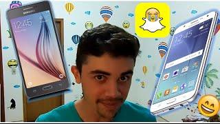 TROQUEI MEU GRAN PRIME POR UM SAMSUNG GALAXY J7 - Opinião - Falha Snapchat