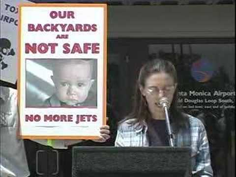 Santa Monica Airport Air Pollution Protest 04-21-07 #7