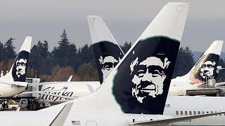 Alaska Airlines B737-800 5:23-hrs-nonstop FIRST CLASS Seattle-Honolulu [AirClips full flight series]