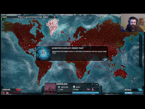 Plague Inc Evolved Scenario - Nipah Virus
