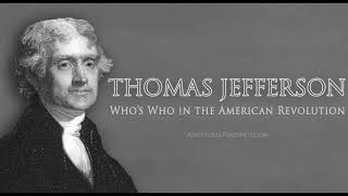 Who's Who in the American Revolution: Thomas Jefferson