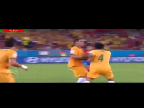 Resumen de Chile 3 Australia 1 brasil 2014
