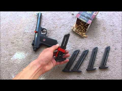 Ruger 22/45. Magazines. speedloader. Ultimate Cliploader