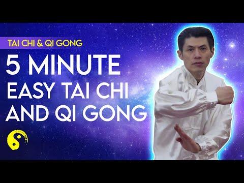 QI GONG & TAI CHI Easy Warmup Exercises - Iron Body Tendon Chi Kung