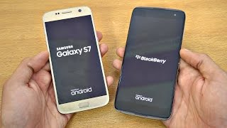 BlackBerry DTEK60 vs Samsung Galaxy S7 - Speed Test! (4K)