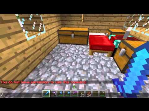 How to enable cheats on Minecraft 1.3.2 (Singleplayer)