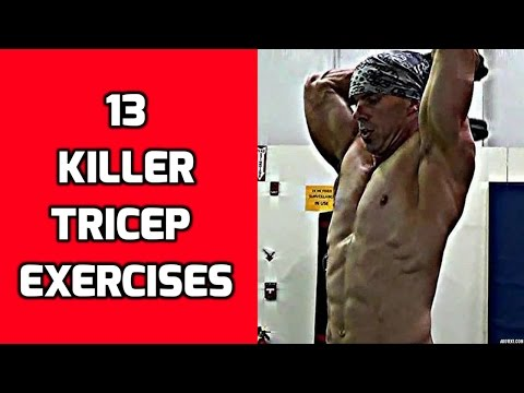 13 Killer Tricep Exercises for your Arm Workouts Image 1
