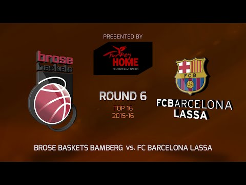 Highlights: Brose Baskets Bamberg-FC  Barcelona Lassa